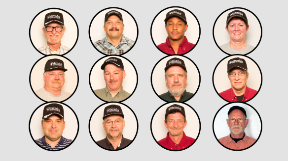 2014 Drivers of the Month (also known as Black Hats)